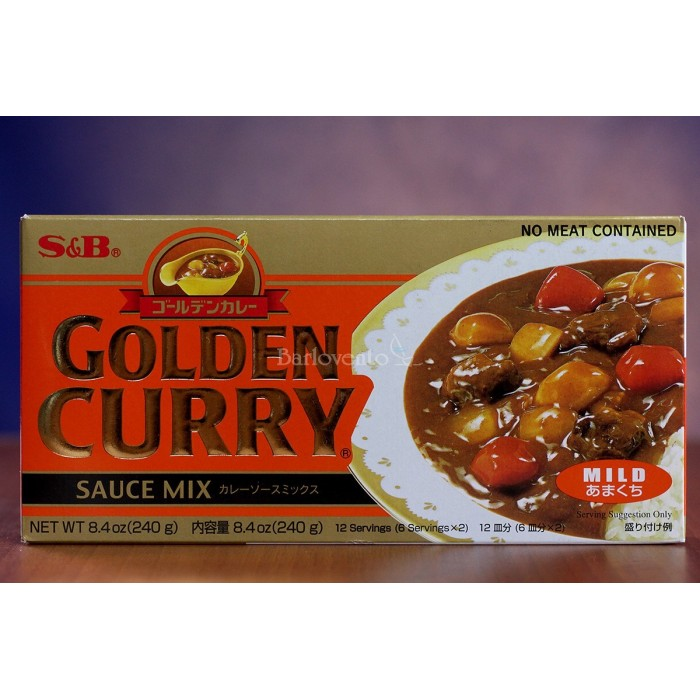 S&B curry suave