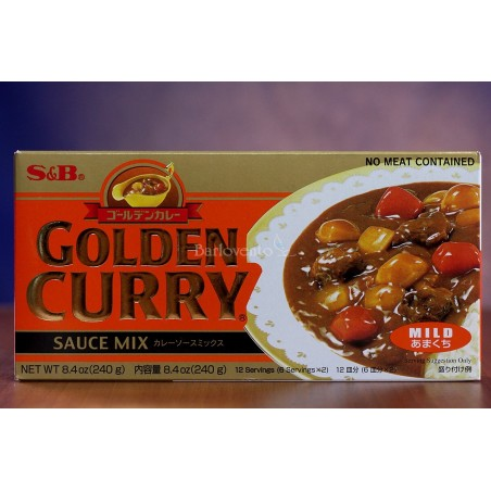 S&B golden curry suave