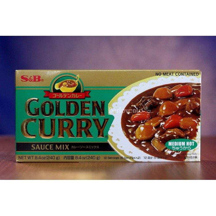 S&B golden curry medio